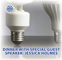 Dinner with Jessica holmes